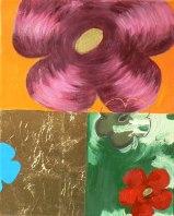 Peinture à l'huile et techniques mixtes sur toile - 27 x 22 cm