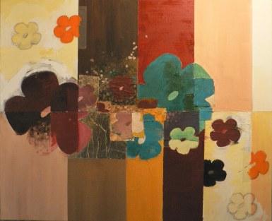 Peinture à l'huile sur toile, dorures Environ 70 x 45 cm VENDU