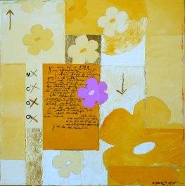 Peinture à l'huile sur toile VENDU