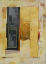 Variation F2 CHU - peinture à l'huile sur support en bois - 55 x 40 cm