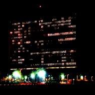 Variation G3 2144 - photographie en couleurs prise de nuit - 40 x 40 cm
