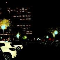 Variation G4 2150 - photographie en couleurs prise de nuit - 40 x 40 cm