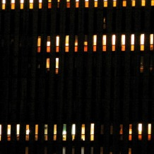 photographie en couleurs prise de nuit - 20 x 20 cm