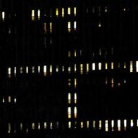 Variation H5 2146 - photographie en couleurs prise de nuit - 20 x 20 cm