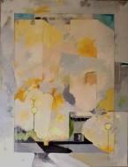 variation i1 CHU - peinture à l'huile sur toile 115 x 90 cm