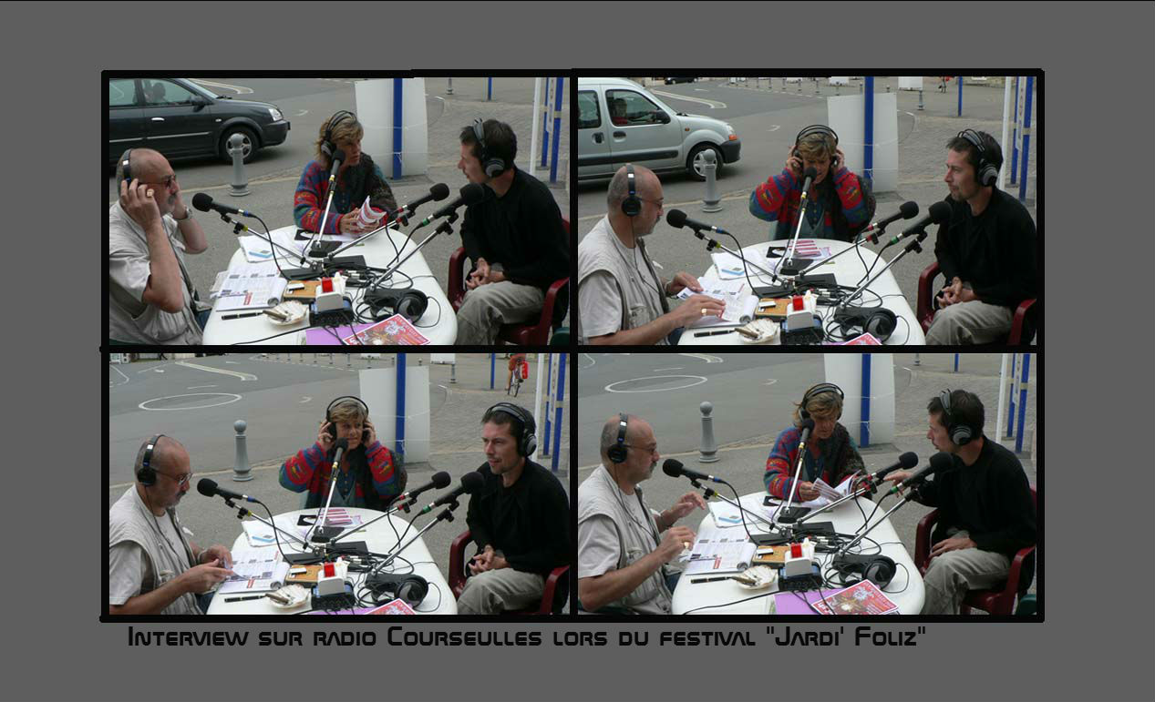 Arnaud DAVAL sur radio Courseulles