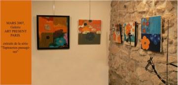 Galerie Art Présent à Paris